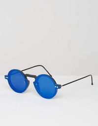 Круглые солнцезащитные очки с синими стеклами Spitfire