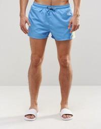 Голубые шорты для плавания Hugo Boss Piabuco - Синий