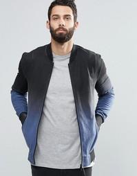 Трикотажная куртка-пилот с эффектом деграде Religion