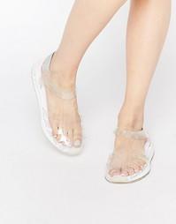 Прозрачные сандалии Le Coq Sportif Dynactif - Прозрачный