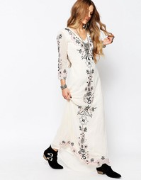 Платье макси Glamorous - Кремовый