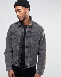 Джинсовая куртка Farah Leven - Серый