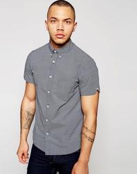 Рубашка с короткими рукавами и геометрическим принтом Dickens and Brow