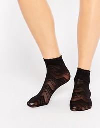 Носки с шевронным узором Gipsy - Черный