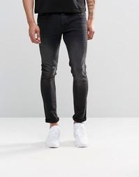Супероблегающие выбеленные джинсы из денима плотностью 12,5 унций АSOS Asos
