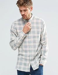 Клетчатая рубашка Selected Homme - Бежевый