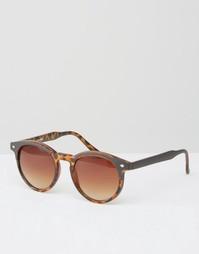 Солнцезащитные очки в круглой оправе Toyshades Rasper