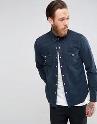Джинсовая рубашка цвета темный индиго в стиле вестерн Levi's Barstow Levi's®