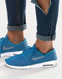 Кроссовки Nike SB Stefan Janoski Max 631303-301 - Зеленый