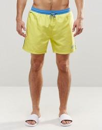 Желтые шорты для плавания Hugo Boss Star Fish - Желтый
