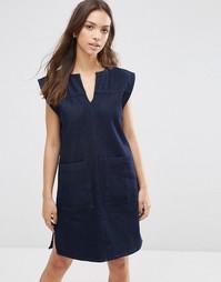 Джинсовое платье Waven Izabel - Японский голубой