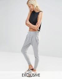 Светло-серые гаремные брюки Nocozo - Светло-серый