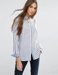 Классическая рубашка в полоску Hilfiger Denim