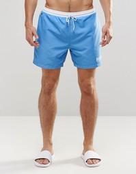 Голубые шорты для плавания Hugo Boss Star Fish - Синий