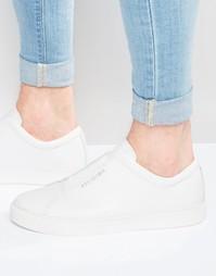 Кожаные кроссовки Religion - Белый
