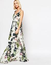 Платье макси с цветочным принтом Gestuz - Мульти