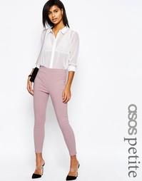 Укороченные брюки скинни ASOS PETITE - Пыльно-лиловый