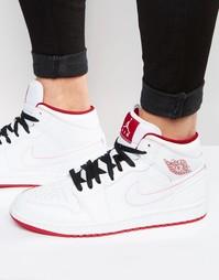 Кроссовки средней высоты Nike Air Jordan 554724-103 - Белый