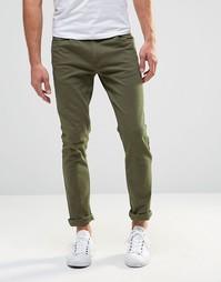 Суперузкие брюки Farah Drake - Зеленый