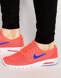 Кроссовки Nike SB Stefan Janoski Max 631303-841 - Красный