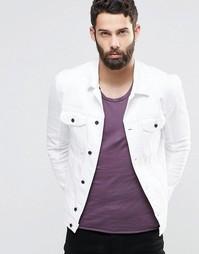 Белая джинсовая куртка Religion - Белый