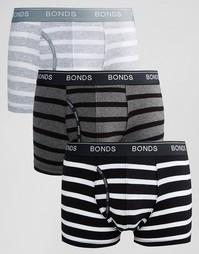 Комплект из 3 боксеров-брифов Bonds - Мульти