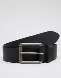 Кожаный ремень ASOS - Черный
