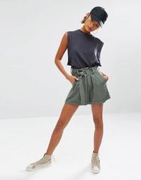 Повседневные шорты с D‑образной пряжкой Daisy Street - Хаки