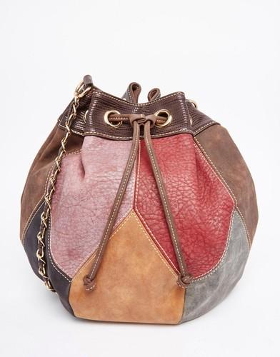 Дизайнерские сумки из кожи пэчворк