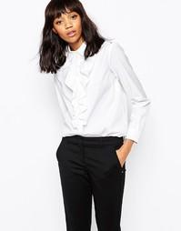 Рубашка с рюшами Sportmax Code - Белый