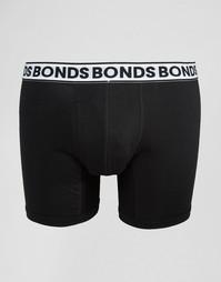 Удлиненные боксеры-брифы Bonds - Черный
