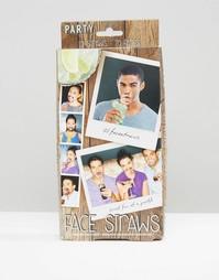 Набор из 10 трубочек Party Face - Мульти Gifts