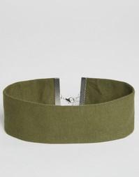 Короткое ожерелье ASOS - Хаки