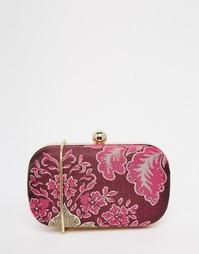 Жаккардовый клатч Glamorous - Розовый