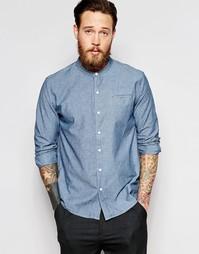 Рубашка в стиле ретро Bethnals Vic - Синий
