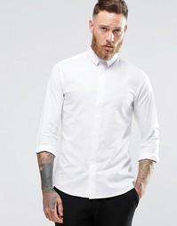 Облегающая рубашка Noose & Monkey - Белый