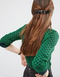 Заколка для волос ограниченной серии с пряжкой - Золотой Asos