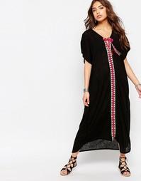 Туника в марокканском стиле - Черный Pitusa