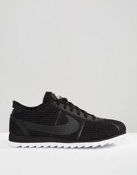 Черные кроссовки Nike Cortez Ultra Breathe