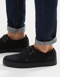 Замшевые ботинки чукка Farah Fame - Темно-синий