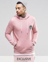 Худи с логотипом-гербом Hype - Розовый