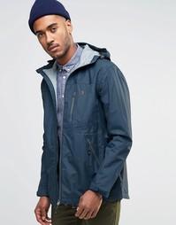 Куртка на молнии с капюшоном Farah Tansley - Синий