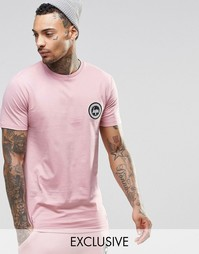 Футболка с логотипом Hype - Розовый