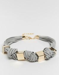 Ожерелье-чокер ограниченной серии - Серый Asos