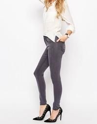 Серые джинсы ASOS Premium Sculpt Me - Серый оттенка грецкого ореха