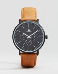 Часы с состаренным кожаным ремешком ASOS - Рыжий