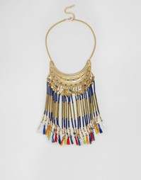 Ожерелье с кисточками ASOS - Мульти