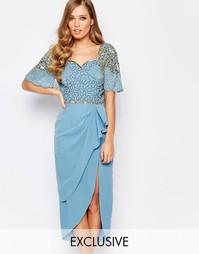 Платье миди с разрезом до бедра Virgos Lounge Laila