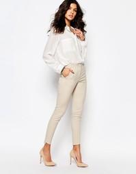 Облегающие брюки Y.A.S Cora - Silver cloud