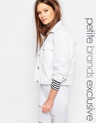Джинсовая куртка Waven Petite - Белый